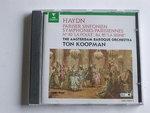Haydn - Symphonies 83,84,85 / Ton Koopman