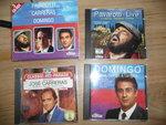 3 CD Box Pavarotti, Carreras, Domingo