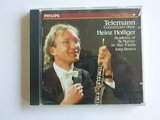 Telemann - Concerti per Oboe / Heinz Holliger