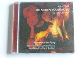 Jasperina de Jong - Kurt Weill / Die Sieben Todsünden (nieuw)