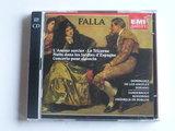 Manuel de Falla - LÁmour sorcier, le Tricorne, concerto pour clavecin / F. De Burgos (2 CD)