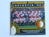Feyenoord Rotterdam  (Selectie '92) - Wij houden van die club (CD Single)