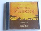 Return to Pride Rock - songs ispired by Lion King II (walt Disney)