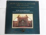 Ton Koopman - Musica Barocca Italiana per Organo (LP)