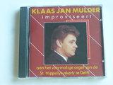Klaas Jan Mulder - improviseert