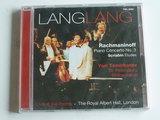 Rachmaninoff - Piano concerto no.3 / Lang Lang, Yuri Temirkanov (nieuw)