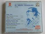 Pt. Nikhil Banerjee - Sitar