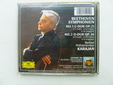 Beethoven - Symph. 1 & 2 / Karajan