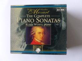 Wolfgang Amadeus Mozart - The Complete Piano Sonatas / Klara Würtz (5 CD)