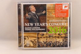 New Year's Concert - Mariss Jansons 2016 (2 CD)