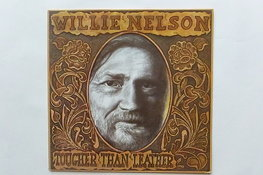 Willie Nelson - Tougher than Leather (LP)