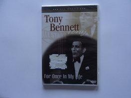 Tonny Bennett - For once in my life (DVD)Nieuw