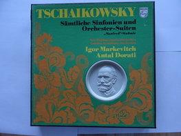 Tschaikowsky - Sämtliche Sinfonien / Antal Dorati (10 LP)
