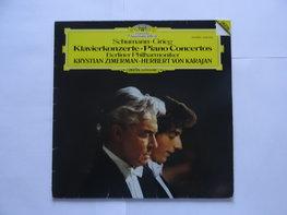 Schumann / Grieg - Klavierkonzerte Zimerman / Karajan (LP)