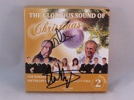 The Glorious sound of Christmas - Cor Bakker / Louis van Dijk 2CD+DVD (gesigneerd)
