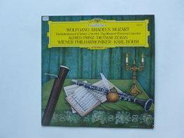 Mozart - Klarinettenkonzert / Alfred Prinz, Karl Böhm (LP)