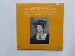 Thomas Stoltzer - Die Vier Deutschen Psalmen (2 LP)