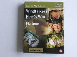 Windtalkers, Hart's War, Platoon (3 DVD)