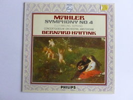 Mahler - Symphonie nr. 4 / Elly Ameling, Haitink philips (LP)