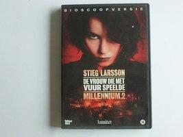Stieg Larsson - De vrouw die met vuur speelde (DVD)