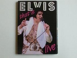 Elvis Presley - Thats Live (Omaha 1977) DVD