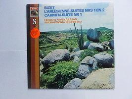 Bizet - L'Arlesienne-suites / Herbert von Karajan (LP)