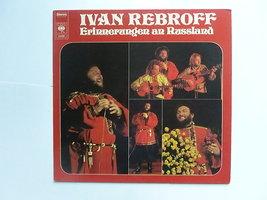 Ivan Rebroff - Erinnerungen an Russland (LP)