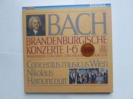 Bach - Brandenburgische konzerte / N. Harnoncourt (2 LP)