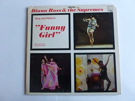Diana Ross & the Supremes -sing and perform Funny Girl (LP)