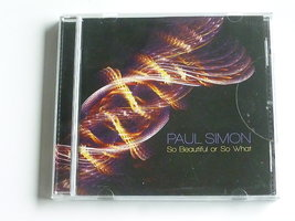 Paul Simon - So beautiful so what (nieuw)