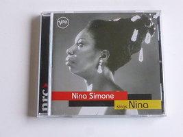Nina Simone sings Nina