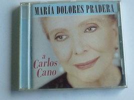 Maria Dolores Pradera - a Carlos Cano