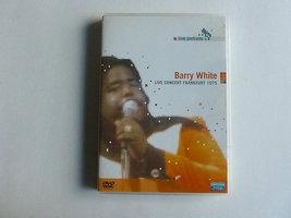 Barry White - Live Concert Frankfurt 1975 (DVD)