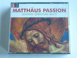 J.S. Bach - Matthäus Passion / Paul Goodwin (3 CD)