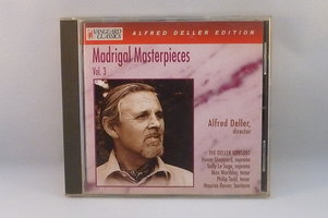 Alfred Deller - Madrigal Masterpieces vol. 3