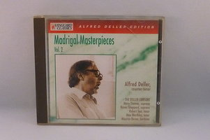Alfred Deller - Madrigal Masterpieces vol.2