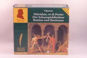 Mozart - Mitridate, re di Ponto / Der Schauspieldirektor/ Bastien und Bastienne (5 CD Mozart Edition)