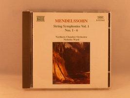 Mendelssohn - String Symphonies vol. 1 / N. Ward