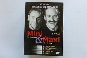 Mini & Maxi - 35 jaar Televisie en Theater (5 DVD Box)