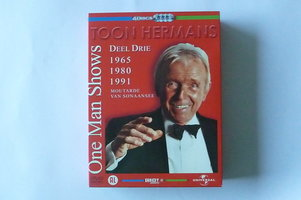 Toon Hermans - One Man Shows Deel 3 (4 DVD)