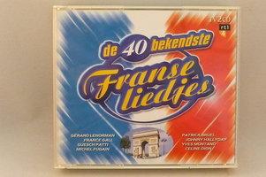 De 40 Bekendste Franse Liedjes (2 CD)