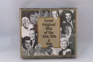 Great Original Hits of the 40's, 50's & 60's (5 CD)