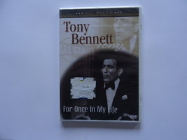 Tonny Bennett - For once in my life (DVD)Nieuw