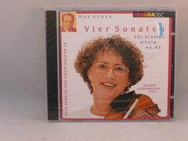 Max Reger - Vier Sonaten / Renate Eggebrecht (nieuw)