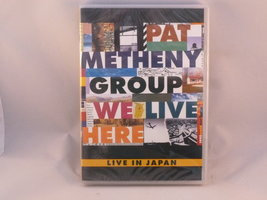 Pat Metheny Group - We Live Here / Live in Japan  (DVD)Nieuw