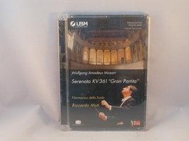 Mozart - Serenata Gran Partita / Riccardo Muti (DVD) Nieuw
