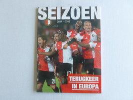 Feyenoord - Seizoen 2014-2015 (DVD) Nieuw