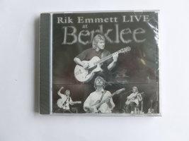 Rik Emmett - Live at Berklee (nieuw)
