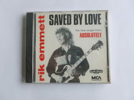 Rik Emmett - Saved by love (CD Single) Nieuw