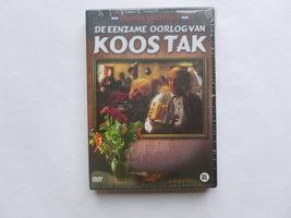 De eenzame oorlog van Koos Tak (DVD) Nieuw